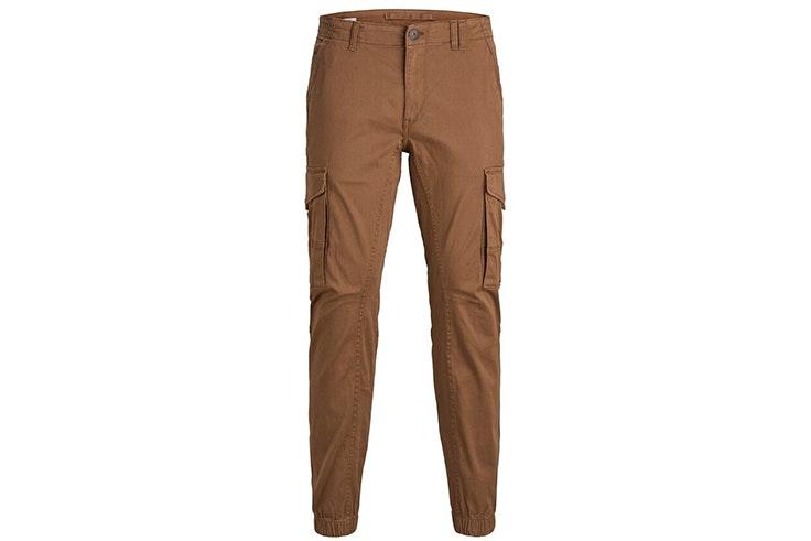 pantalón cargo marrón jack and jones
