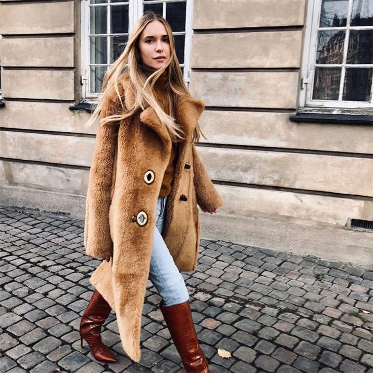 Pernille Teisbaek abrigos de las influencers