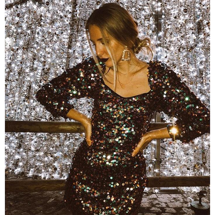 marta martin deardiaryblog estilo instagram vestido lentejuelas