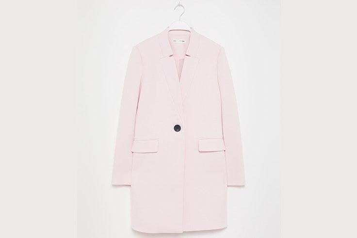 Abrigo en color rosa claro de Sfera