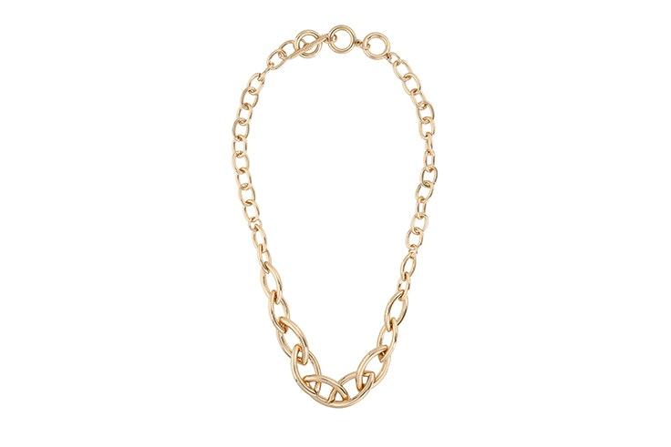 collar cadena dorado de bijou brigitte Silvia García
