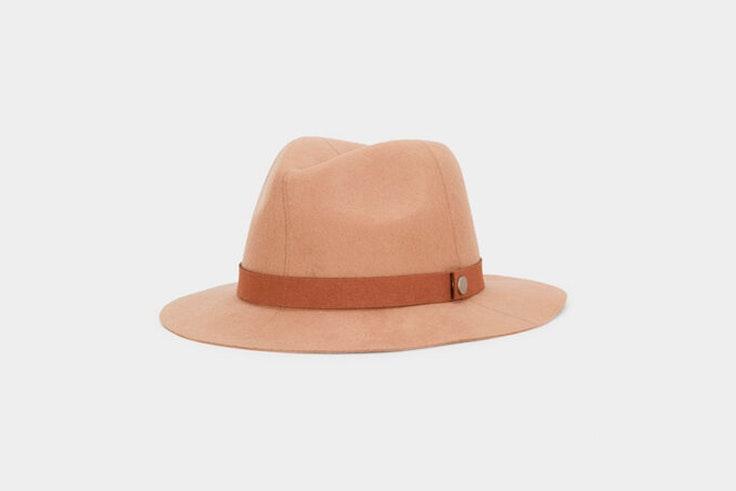 Sombrero en color marrón claro de Parfois