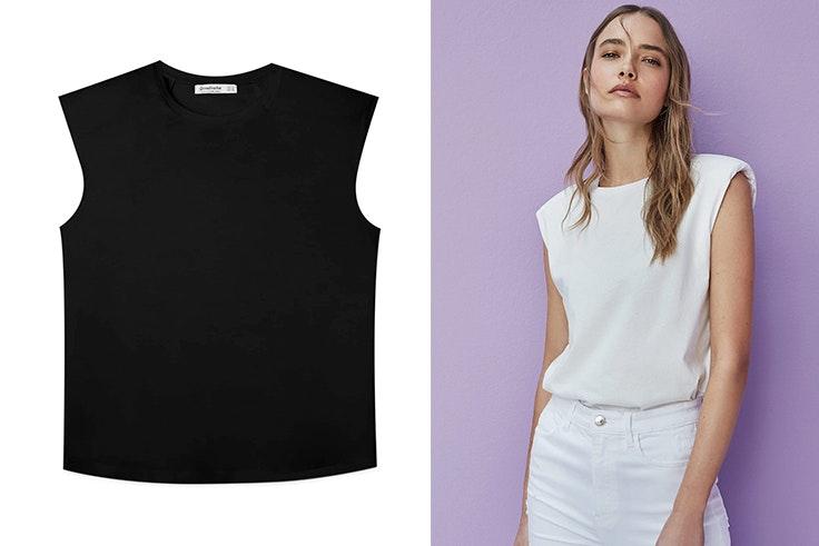 moda-mujer-camiseta-hombreas