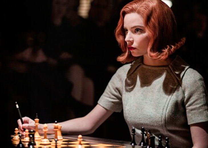 serie ajedrez moda