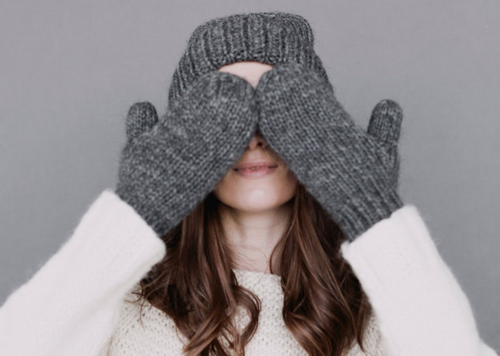 proteger manos cara frío