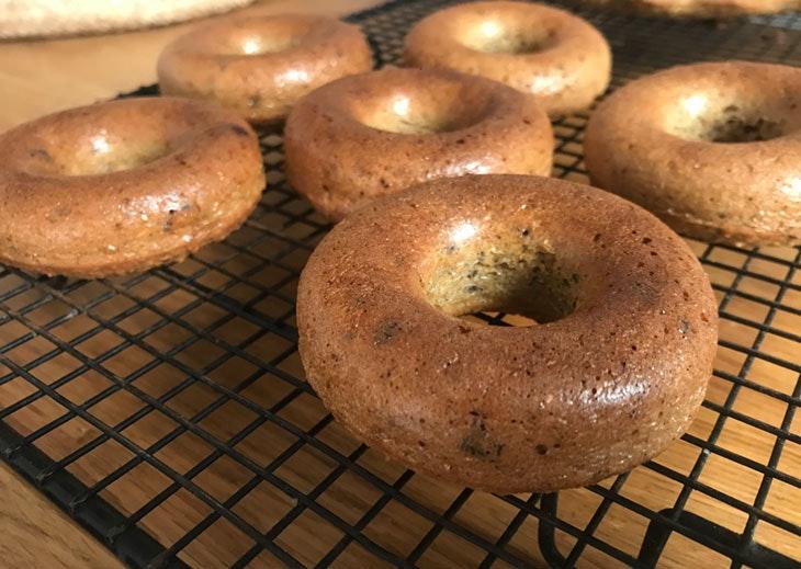donuts manzana sin azúcar