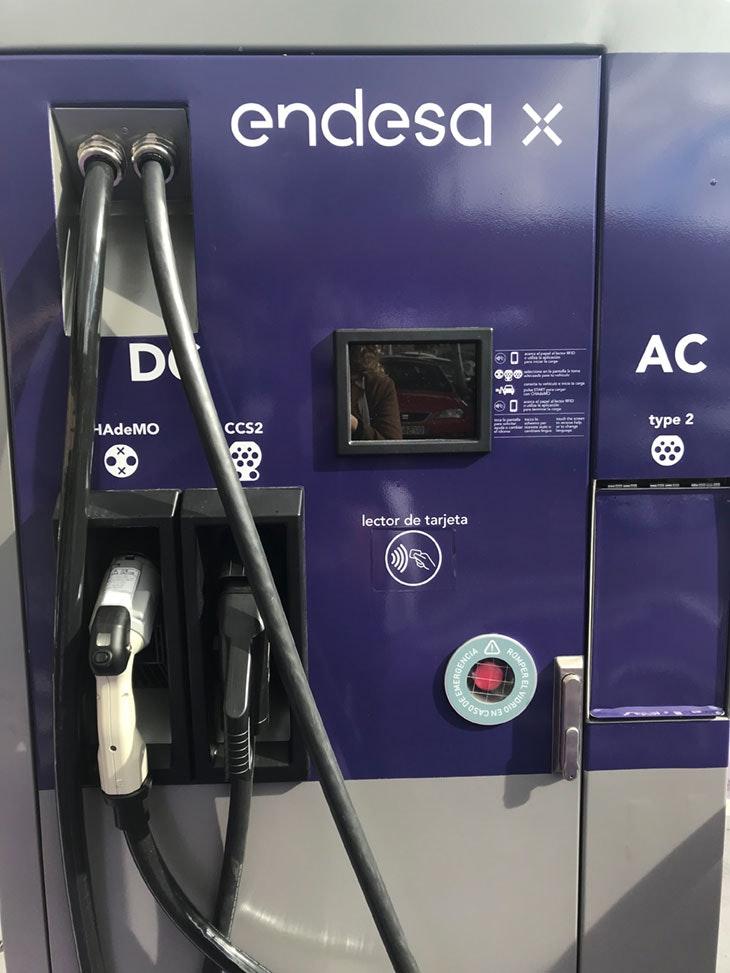 recarga vehículos eléctricos