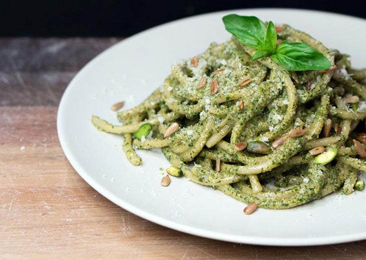 salsas 'pesto' verduras