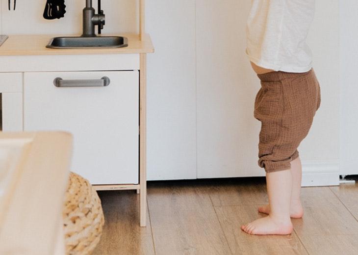 calzado bebé empieza andar