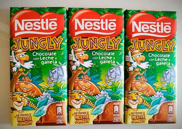 jungly chocolate