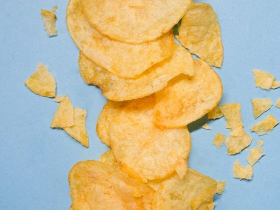 chips patata microondas