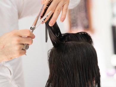 sanea cabello corte