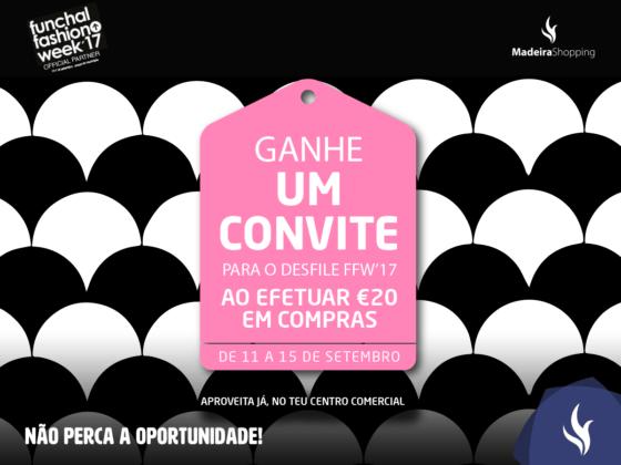 Venha levantar o seu convite para o Funchal Fashion Week!