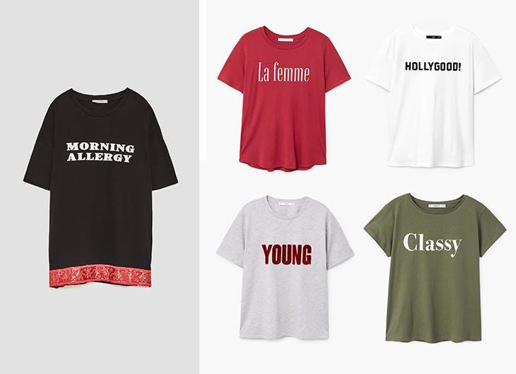 Estas t-shirts falam