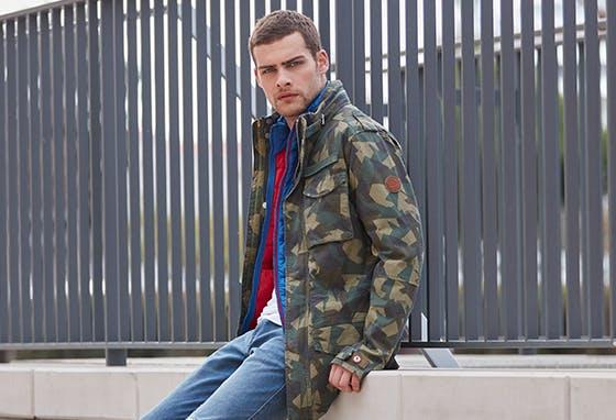 Encontre o casaco perfeito na Timberland