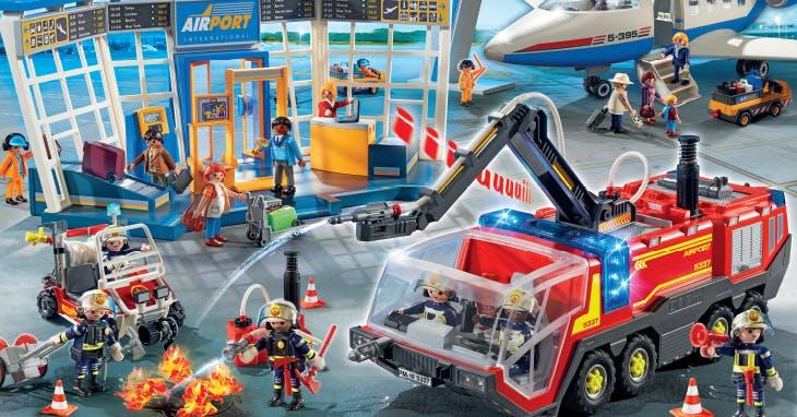 Há aqui um convite para a festa da Playmobil!