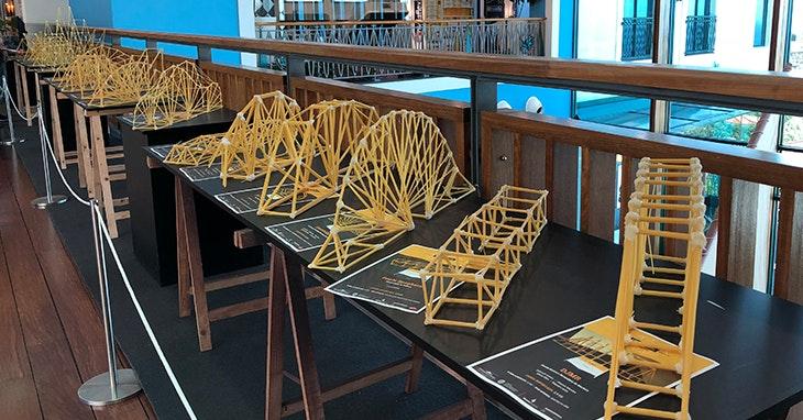Tudo sobre a exposição Uma Ponte de Esparguete.