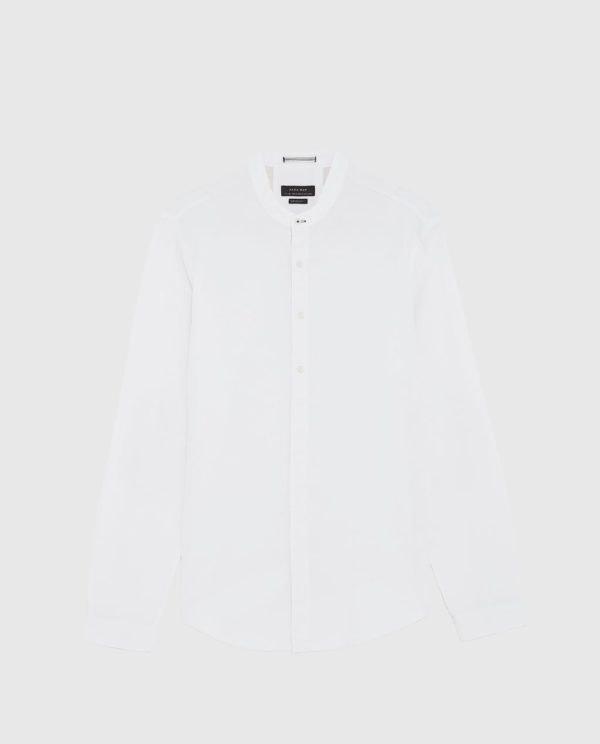 Camisa zara branca | Produto Antes de Mim