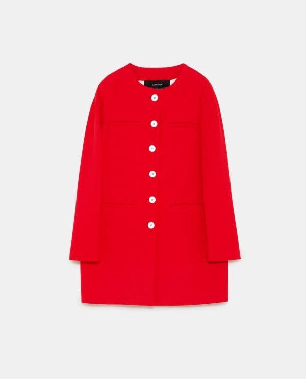 Casaco, Zara, 29,99€