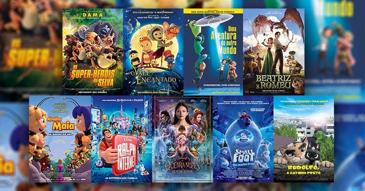 Cinema Infantil  as melhores animações em 2019! 092e4ce8fb