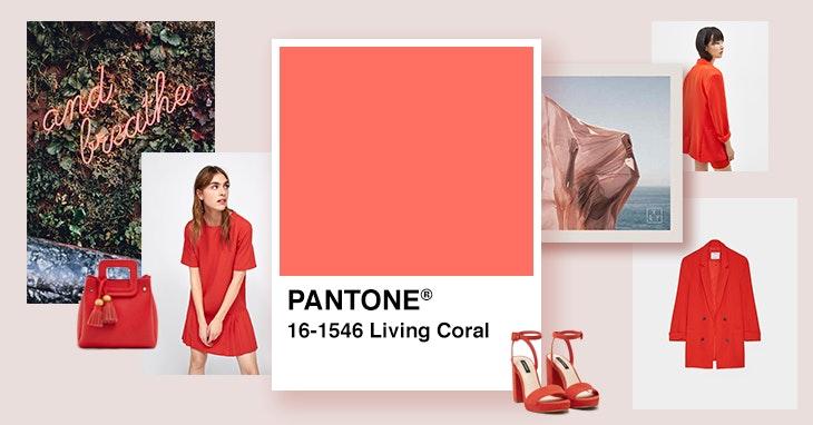 Living Coral  a cor para usar e abusar este ano d8693306c7