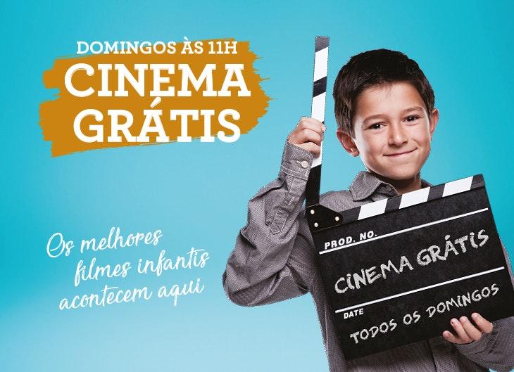O cinema grátis infantil está de volta!