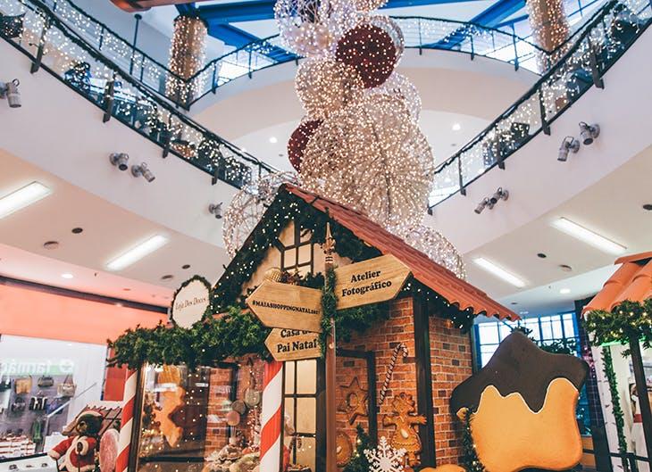 Natal no seu centro.