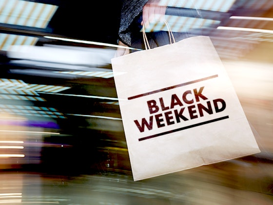 Black Weekend no seu centro