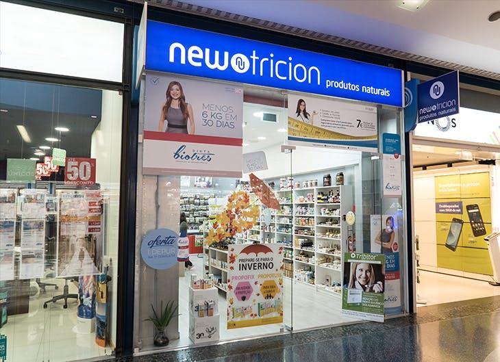Newtricion: a loja naturalmente saudável