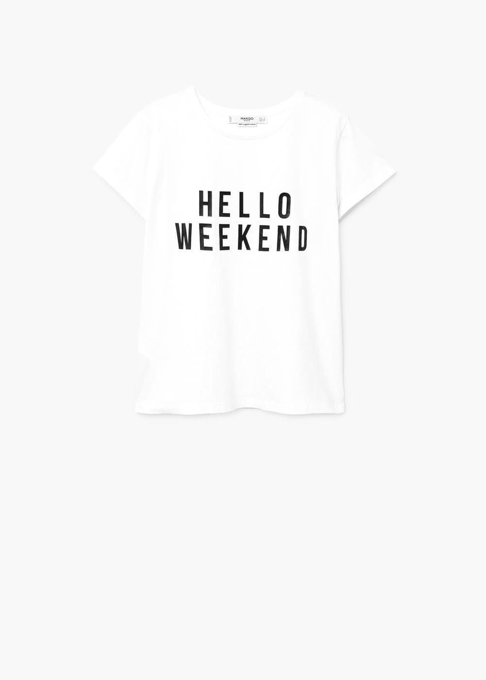 Mango, T-shirt, 9,99€