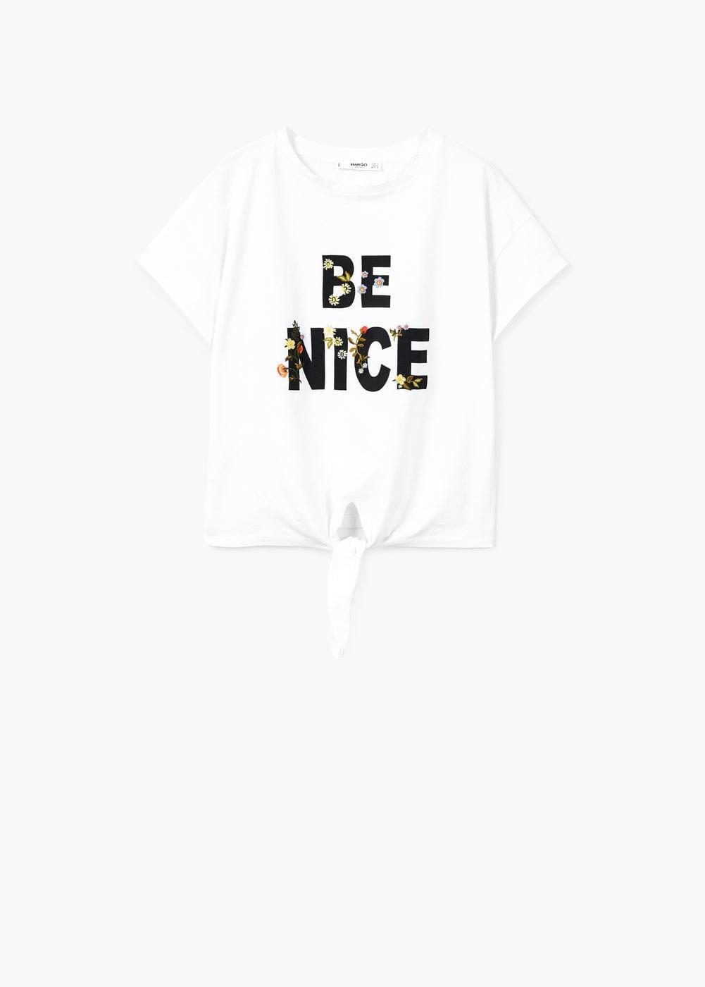 Mango, T-shirt estampada, 15,99€