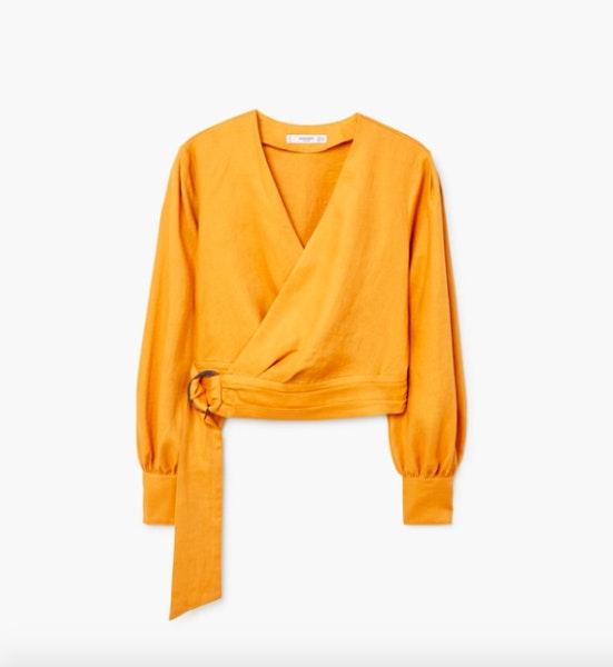 Blusa cruzada, 39,99€