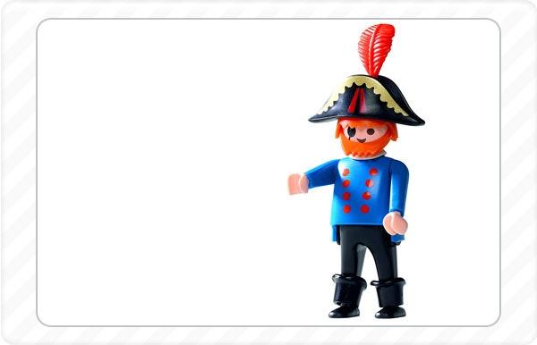 1987 - Nasce o capitão pirata que é a primeira figura masculina com barriga.