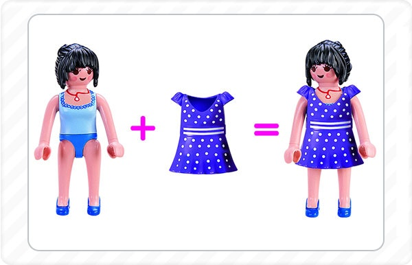 2013 - Os pequenos fãs esperaram muito tempo por isto: vestidos e saias para vestirem às suas figuras.