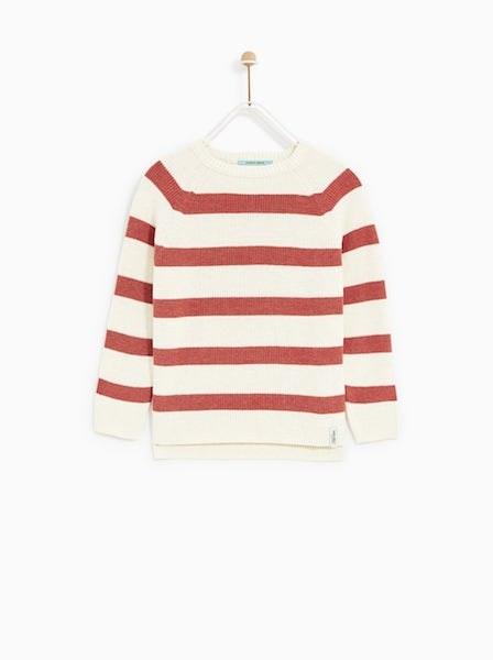 Camisola, Zara Kids, antes a 12,99€ agora a 5,99€