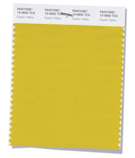 Ceylon Yellow   Um amarelo sangado, picante e exótico.