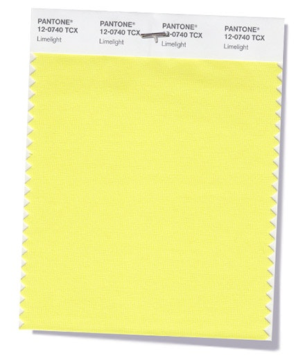 Limelight   Animado e efervescente, um amarelo esverdeado cheio de energia.