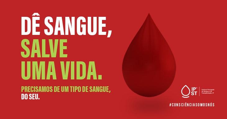recolha de sangue