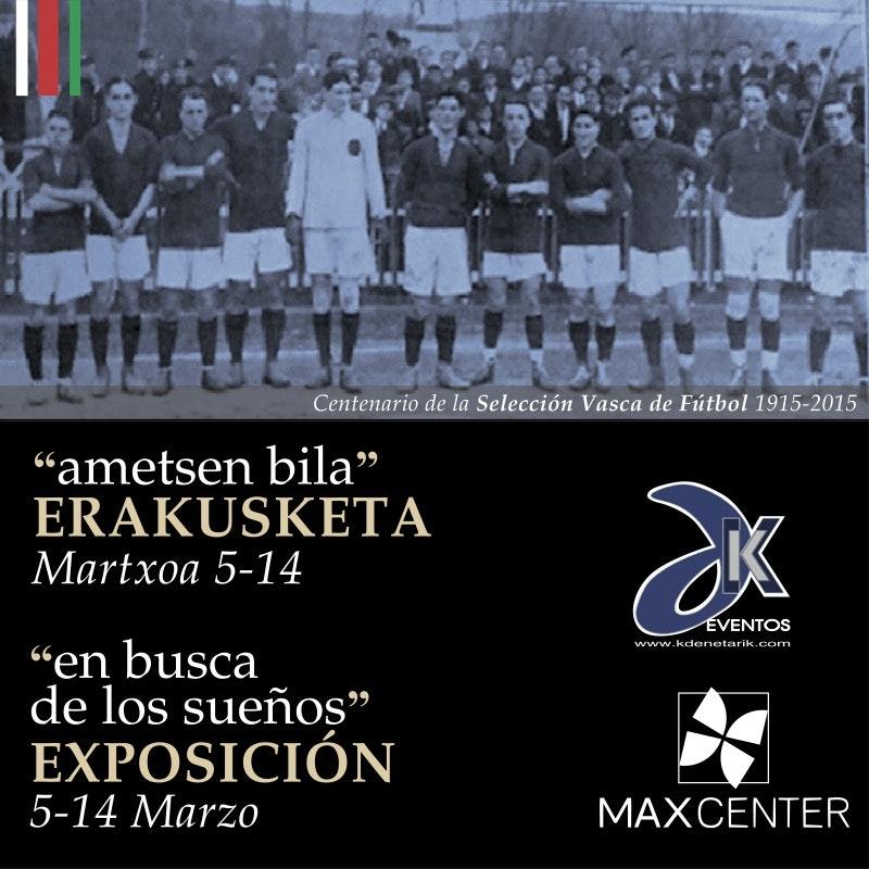 Exposición del Centenario de la Selección Vasca de Fútbol