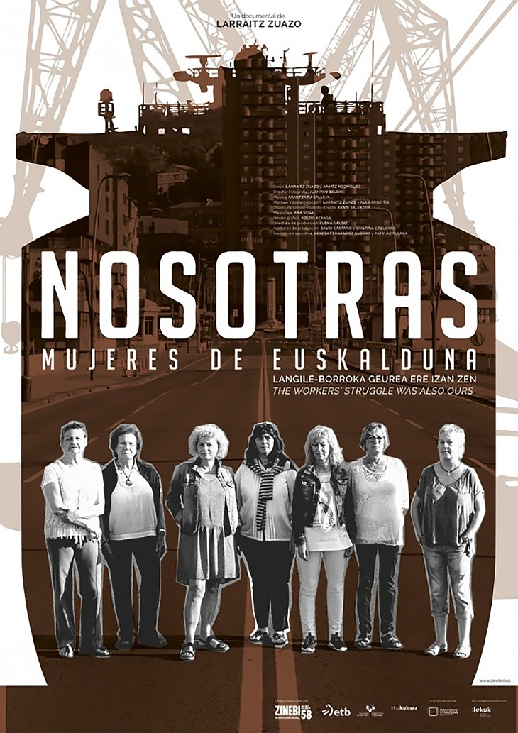 'Nosotras, mujeres de Euskalduna' hoy en el Teatro Barakaldo