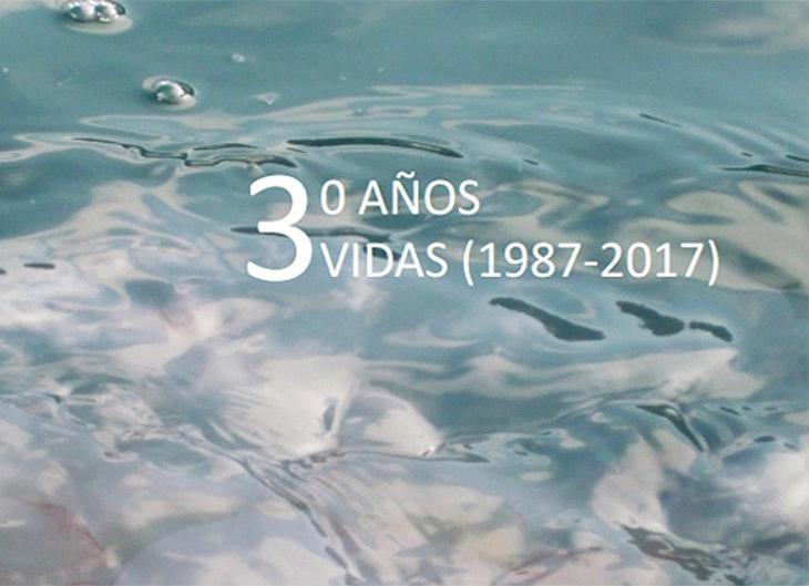 '30 años, 3 vidas' en la Biblioteca Central