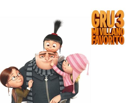 ¡Este vienes Max Ocio estrena 'Gru 3. Mi villano favorito'!