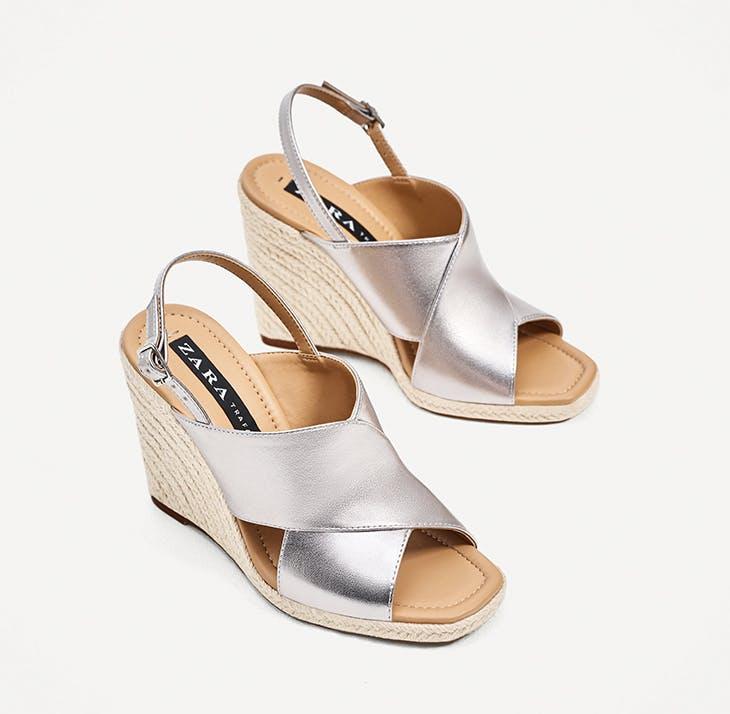 Cuñas de esparto, el calzado ideal