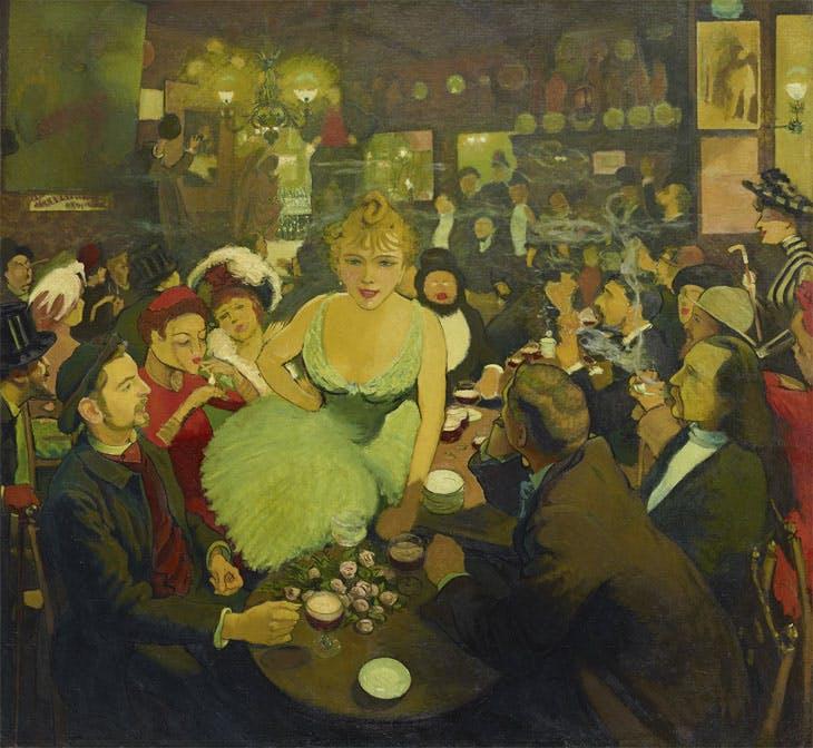 Las vanguardias francesas en 'París, fin de siglo' del Guggenheim