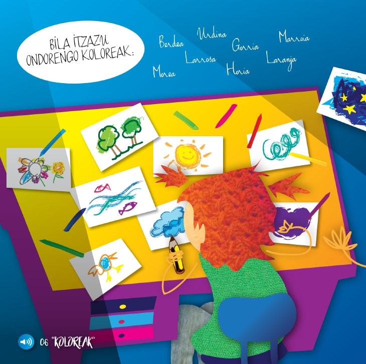 'Zeru izpiño bat', el libro que acercará el euskera a los más pequeños