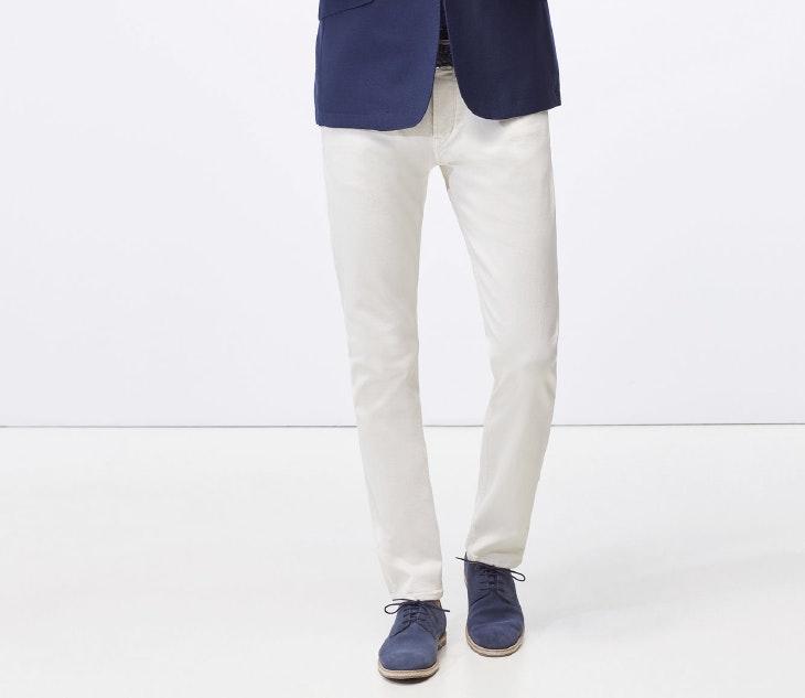 4 looks con pantalón blanco
