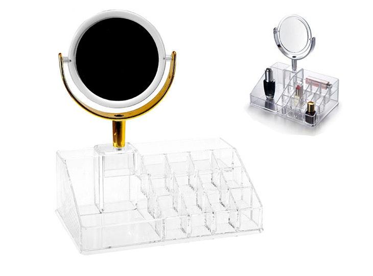 Crea tu propio organizador de maquillaje