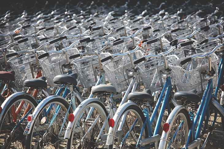 En verano, muévete por Barakaldo en bicicleta