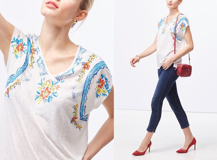 5 ideas para combinar tus camisetas estampadas