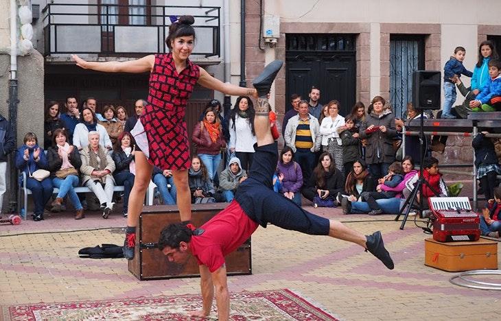 Un lunes sinigual para las fiestas del Carmen en Barakaldo